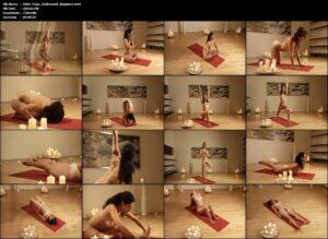 Die Nackt Yoginis der Nackt Yoga DVD Serie sind extrem fit