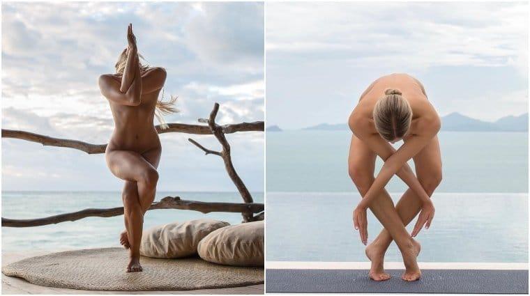 Wie man eine nackte Yoga-Göttin wird