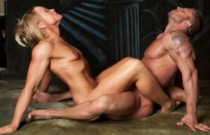 Nackt-Yoga für Paare