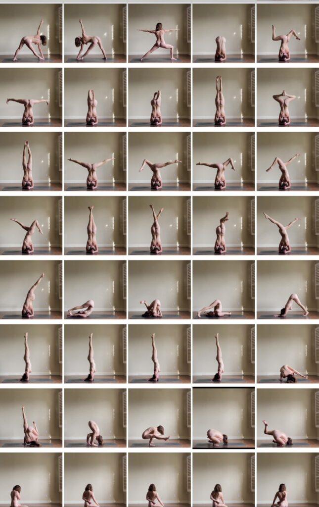 Auch du kannst Nackt-Yoga machen!