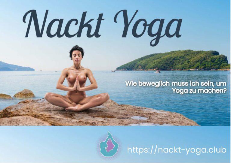 Kostenloses Nackt Yoga eBook mit tollen nacktfotos