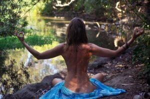 Nackt Ganja-Yoga