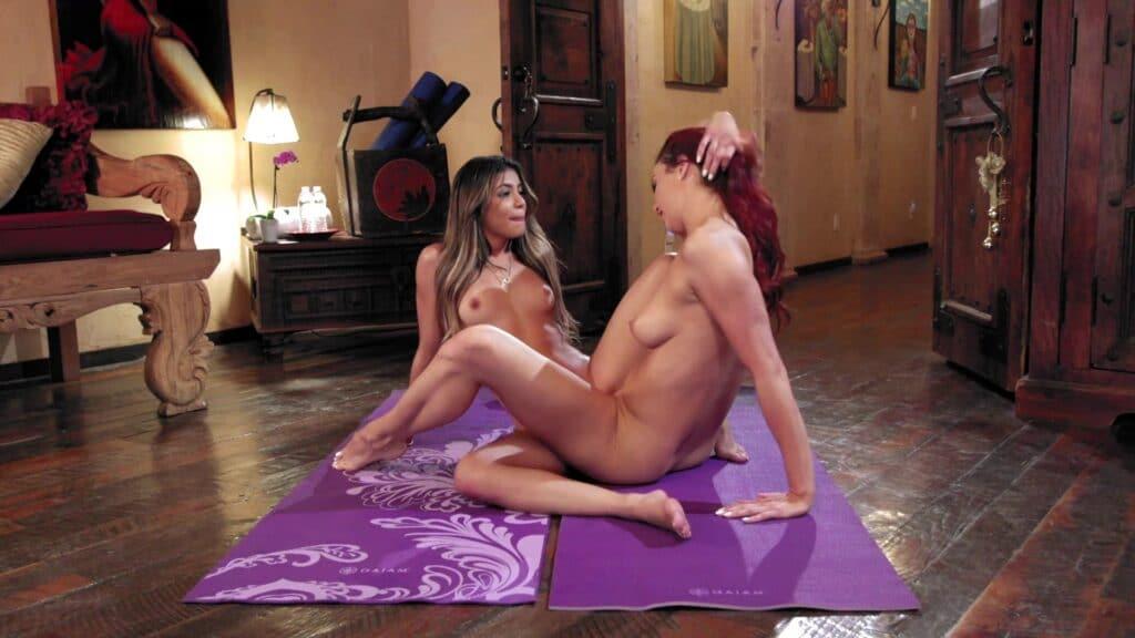 Nackt Meditation Stunde (Meditation Session)