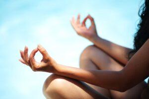 Bisexualität und Nackt Yoga