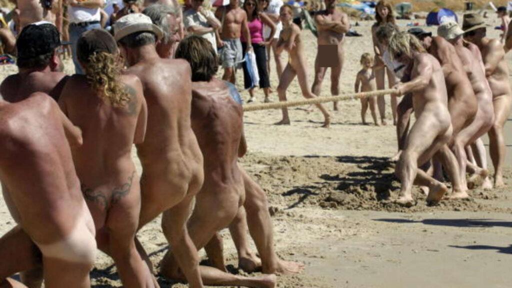 Nackt Aktivitäten